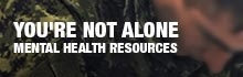 You are being redirected to: You're not alone - Mental Health resources for CAF members and families.